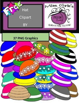 FREE Hat Graphics - Many Colors and Patterns!