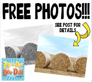 {FREE} Hay Bails Stock Photos Pack — Includes Commercial License!