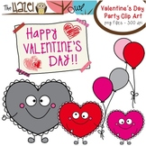 FREE Heart Buddy Valentine's Day Party Clip Art: Graphics
