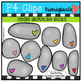 FREE Heart Gratitude Rocks (P4 Clips Trioriginals)