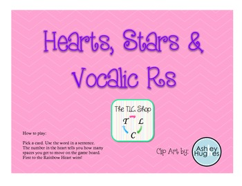 FREE! Hearts, Stars & Vocalic R's
