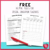 FREE Helpful Tools for Special Educators
