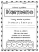FREE High frequency words in Spanish.Calle de la lectura.Week 1 Unit 4 - 1stG.
