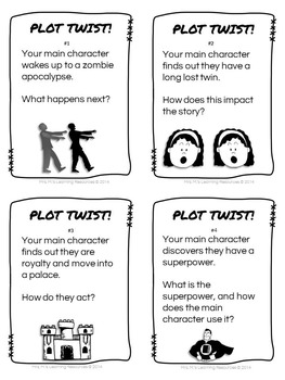 Reading Comprehension Task Cards
