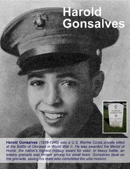 """FREE - Hispanic Heritage Month: """"Harold Gonsalves"""" Poster (K-12)"""