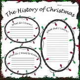 History of Christmas KWL Graphic Organizer FREE