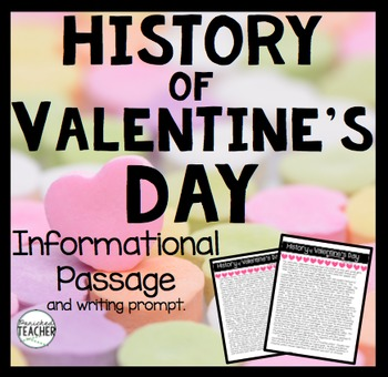 History of Valentine's Day Informational Passage