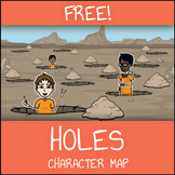 FREE Holes Character Map Worksheet