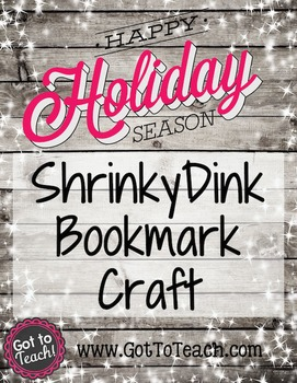 FREE! Holiday Bookmark Craft
