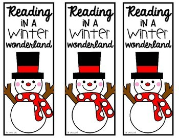 FREE Holiday Bookmarks: Four Festive Designs