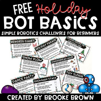 FREE Holiday Bot Basics {Robotics for Beginners} - Hour of Code