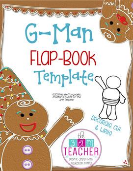 FREE Holiday G-Man Flap-Book