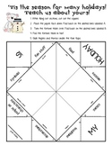 FREE Holiday Game - Fortune Teller - Learn About Different Holidays