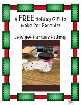 FREE Holiday Craft for Parents