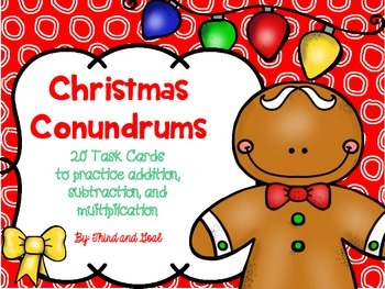 FREE Holiday Math Scoot Common Core Aligned