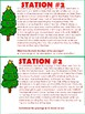FREE Holiday Scavenger Hunt- Summarizing and Questions