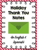 Holiday Thank You Notes (FREE)