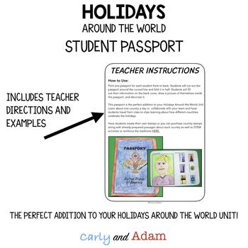 FREE Holidays Around the World Passport