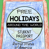 FREE Holidays Around the World Passport