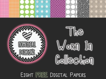 FREE Homegirl Designs Digital Paper (The Worn In Collection)