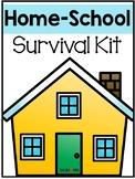 FREE Homeschool Survival Kit: Editable Schedule, Organizat
