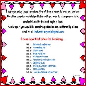 FREE Homework Calendar | EDITABLE | Developmentally Appropriate PK K