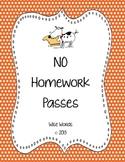 FREE Homework Pass Coupons