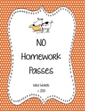 FREE Homework Pass Coupons