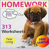 FREE - Homework Worksheet
