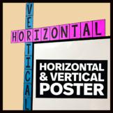 Horizontal & Vertical Posters - Math Classroom Decor