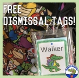 Dismissal Tags  - Free Back to School How We Get Home Transportation Labels