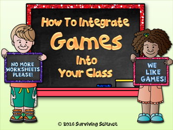 FREE: How To Integrate Games Into Your Class