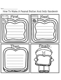 How To Make A Peanut Butter And Jelly Sandwich Sequence  D