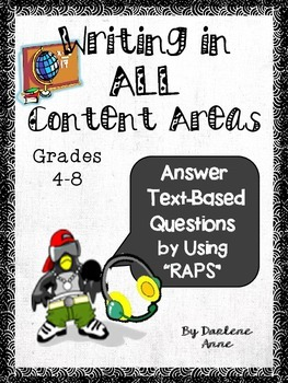 FREE: How to Answer Text-Based Questions in all Content Areas