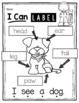 FREE How to Label the Dog - Kindergarten Writing Freebie Labeling