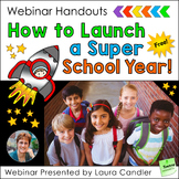 Back to School Webinar Handouts (FREE)