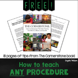 FREE: How to Teach ANY Procedure or Routine!