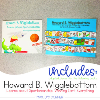 FREE Howard B Wigglebottom Sportsmanship Adapted Piece Book Set
