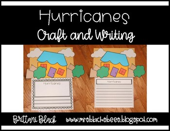 FREE~ Hurricanes~ Craft and Writing
