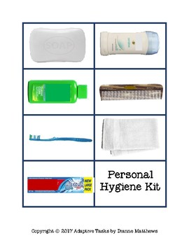 FREE Hygiene Kit Assembly Task