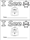 "FREE ""I See"" Sight Word Level A Emergent Reader - Kindergarten Guided Reading"