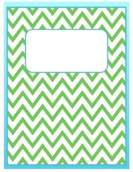 school binder cover templates