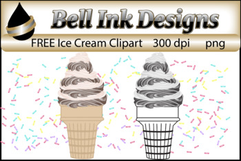 FREE Ice Cream Clipart