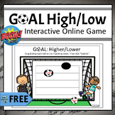 FREE - Identify Higher & Lower | Online Boom Cards for Mus