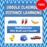 FREE Identify by Color - Google - Distance Learning (ABA,
