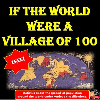 FREE! If the World Were a Village of 100 Presentation