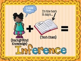 {FREE} Inference Poster, PLUS Inference Graphic Organizer