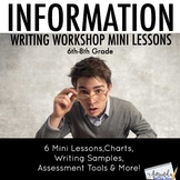 FREE Information Writing Mini Lessons for Middle School
