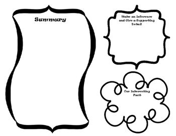 FREE Informational Key Ideas and Details Graphic Organizer