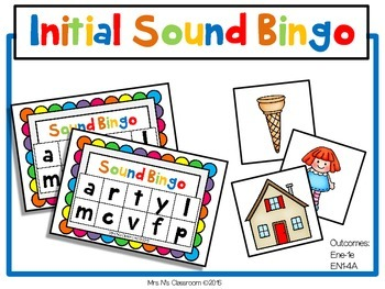 Initial Sound - Bingo